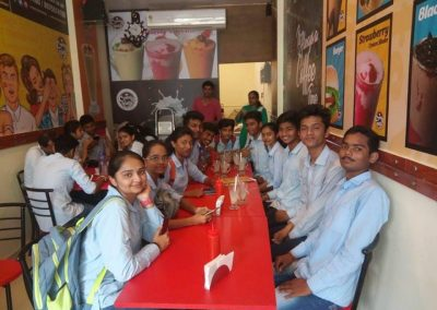 Students Gathering at Creamynuts Cafe