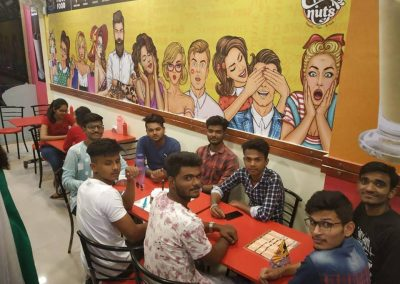 Friends Reunion at Creamynuts Cafe